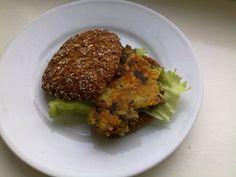 Burgeri sienikasvispihvillä Kotikokki.netin nimimerkki Bataatin reseptillä