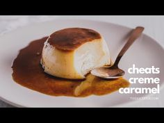 Forget the caramel, this Cheats Crème Caramel is made with dark muscovado sugar which means less work and way more of the delicious! No Bake Desserts, Delicious Desserts, Dessert Recipes, Baking Desserts, Caramel Pudding, Flan Recipe, Cupcakes, Caramel Recipes, Xmas