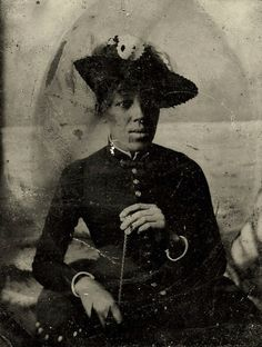 19th century african americans | ... Unknown Lady of the 19th Century | Vintage African & American Phot