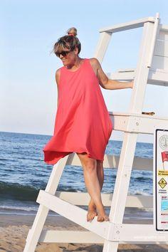 Trapeze Tank - Free Dress Pattern