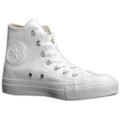 Converse All Star Leather Hi - Men's at Foot Locker