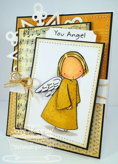 Jody Morrow: Confessions of a Ribbon Addict: You Angel - 11/12/12