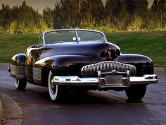 Harley Earl's Incredible Buick Y Concept car Plus.   #cars #classiccars #vintagecars #vintage #oldisgold #canada #buick