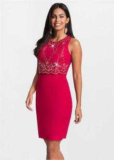 Piękna sukienka w czerwonym kolorze. Fason dopasowany do ciała, nie posiada rękawów. Zdobiona aplikacjami z perełek, zapinana z boku na zamek. Z tyłu zapięcie na guzik. Sukienka idealna na wesele lub inne okazje. Formal Dresses, Womens Fashion, Dresses For Formal, Formal Gowns, Formal Dress, Women's Fashion, Woman Fashion, Gowns, Formal Wear