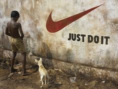 Brand Irony 1 - Just Do It by Sharad Haksar #nike #photography #journalism