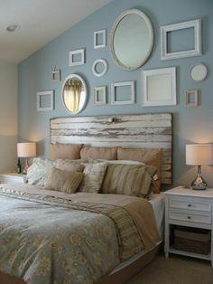 faire une tête de lit soi-même, fabriquer une tete de lit en vieille porte