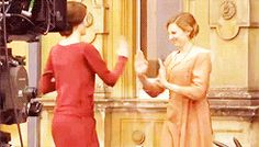 """Edith and Mary getting along: 