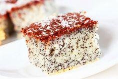 Rezept für einen Low Carb Mohnkuchen - kohlenhydratarm, kalorienarm, ohne Zucker…