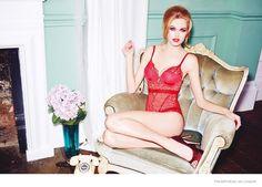 Emma Stern Nielsen Wows for Triumph Lingerie Fall 2014 Ads by Ellen von Unwerth