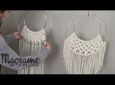 DIY Beginner Macrame Wall Hanging Project with Crafty Ginger. Link download: http://www.getlinkyoutube.com/watch?v=r2GbD4yG7bI