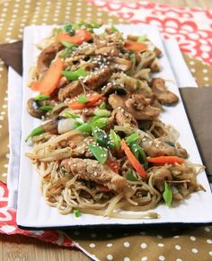 Chicken Recipe : Easy Chicken Lo-Mein