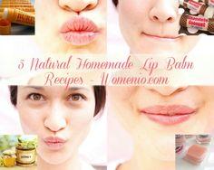 Beauty DIY: 5 Natural Homemade Lip Balm Recipes