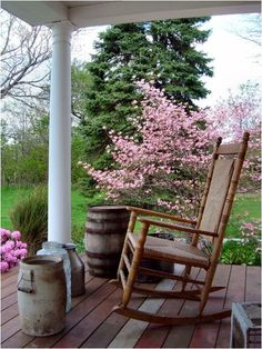 Rocking Chairs -- in and out of the home