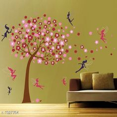 Decorative Stickers  Trendy Vinyl Wall Sticker Material: Vinyl Dimension( H X W): 60 cm X 72 cm Description: It Has 1 Piece Of  Wall Sticker Country of Origin: India Sizes Available: Free Size   Catalog Rating: ★4 (4545)  Catalog Name: Fashionable Trendy Vinyl Wall Stickers CatalogID_254481 C127-SC1267 Code: 151-1927784-882