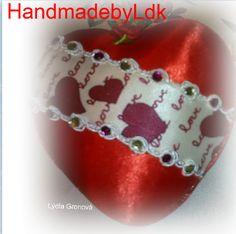 Heart, ornament kimekomi, by HandmadebyLdk