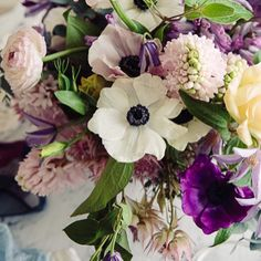 good morning, beautiful! blooms by @margotblair from yesterday's photo shoot // snapped by @wynnmyers