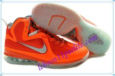 Lebron 9 Shoes Lebrons IX AS Galaxy Total Orange Metallic Silver Team Orange  Mango 520811 800 a0918ec883