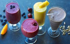 The Only 4 Smoothie Recipes You'll Ever Need  Fresh fruit, a good blender, and a little know-how are all you need.