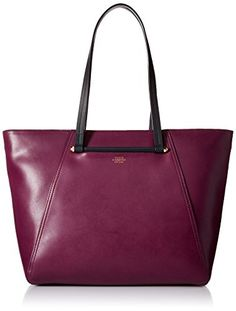 Vince Camuto Addy Tote, Grape Wine/Graphite, One Size *** Want to know more, click on the image.