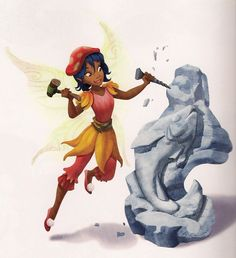 TALENT: Art (Sculpture) APPEARANCES: A Masterpiece for Bess Four Clues for Rani Art Lessons By Bess Welcome to Pixie Hollow