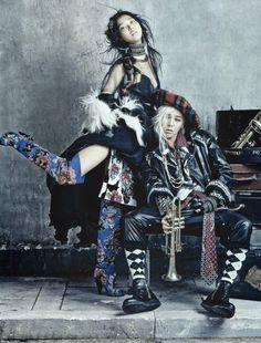 Vogue Korea Photo Shoot - Hobo