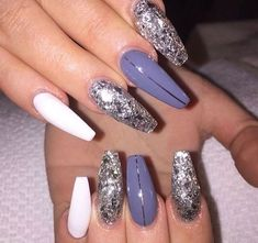40+ Winter Nail Art Design Ideas 2018 You Should Try
