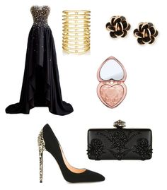 """""""Untitled #113"""" by salo-jojua on Polyvore featuring Cerasella Milano, Alexander McQueen, Too Faced Cosmetics, Chantecler and Jules Smith"""