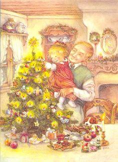 Lisi Martin Christmas Postcards -- Postcardy.com