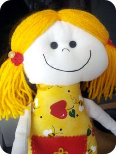 Cloth Doll Aromatic - Chamomille