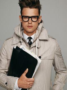 Khaki Parka Men's Outerwear | Men's Fashion
