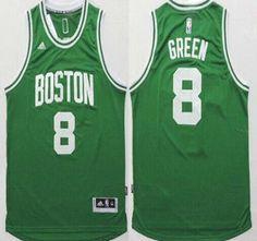15bc675de Boston Celtics Jersey 8 Jeff Green Revolution 30 Swingman 2014 New Green  Jerseys