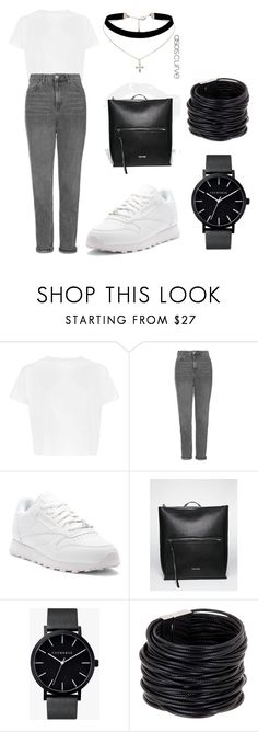 """""""09"""" by alena-mendesh on Polyvore featuring мода, Topshop, Reebok, Calvin Klein, The Horse, Saachi и ASOS Curve"""