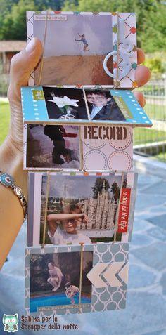 Briciole di Scrapbooking: Jacob's Ladder Mini Album