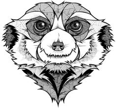 Meerkat!...looks like my dog...Grow by Andreas Preis, via Behance