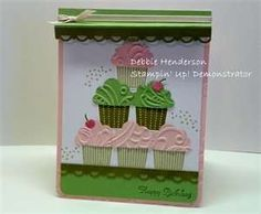 cupcake punch stampin up by jolene