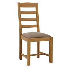 Buy John Lewis Pendleton Dining Chair Fabric Seat Online At Johnlewis