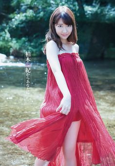 "October 18, 2015 AKB48 Yuki Kashiwagi ""Anatani"" on Young Jump Magazine, #KashiwagiYuki #Yukirin #elegence #jpop #magazine #charming"