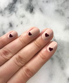 This Valentine's Manicure Is Sweeter Than a Hallmark Card - Finishing Touches from InStyle.com