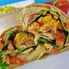 Follow or Friend me I'm always posting awesome stuff: Facebook --->  http://www.facebook.com/tennie.keirn Chicken Salad Wraps Allrecipes.com
