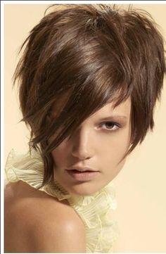 Brown Pixie Short Hairstyles