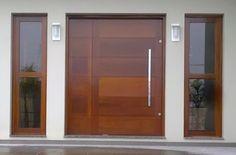 new Ideas for main entrance door interior Modern Entrance Door, Main Entrance Door Design, Modern Front Door, Wooden Front Doors, House Front Door, House Doors, House Entrance, Front Wall Design, Door Design Interior