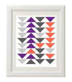 Custom Triangle Print