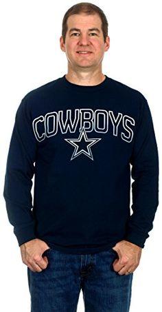 3eb21963 Dallas Cowboys Men's Long Sleeve Cotton T-Shirt (2X) ** Details can