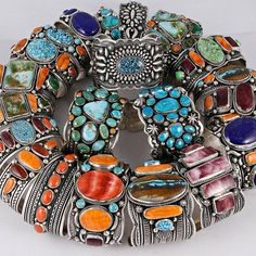 Navajo cuffs ~ multiple artists..