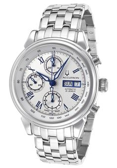 Image for Men's Gemini Automatic Stainless Steel Silver-Tone Dial from World of Watches