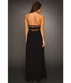 Mara Hoffman Lattice Strapless Dress Black - Zappos.com So fabulous