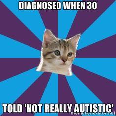 Autistic Kitten