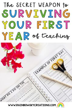 What if you could have a stress free first-year of teaching? Get ready to say goodbye to those, 'Oh my gosh, what am I doing?' first year feelings because we are here to help! Read more here...