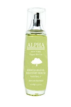 Moroccan Argan Oil Recovery Serum Skin care Treatment by Alpha New York 338 FlOz *** Click on the image for additional details.