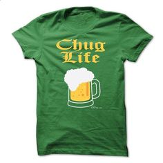 BEER LOVERS CHUG LIFE - #sweaters #music t shirts. SIMILAR ITEMS => https://www.sunfrog.com/Funny/BEER-LOVERS-CHUG-LIFE-Green-7055192-Guys.html?60505
